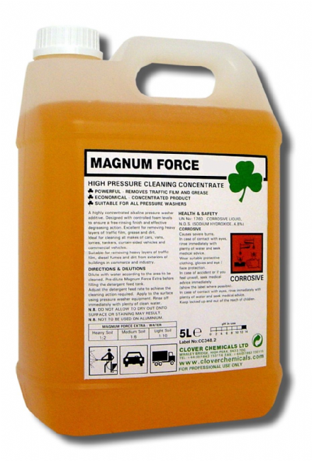 Clover Magnum Force 5L - Traffic Film Remover